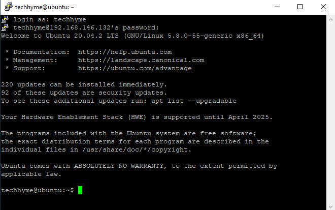 Install Openssh Server Tech Hyme